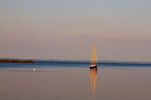 Tall ship sailing, Northport