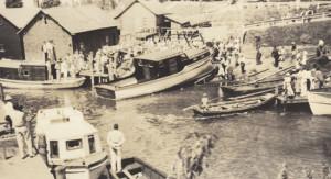 Historical Fishtown in Leland, MI