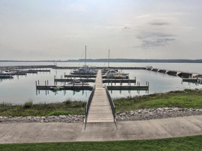 SOLD! Suttons Bay  view over a private harbor