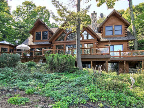 Sold! Custom Town & Country Home on the bay, Omena