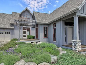 Stylized Arts and Crafts Home with Bay Views: off market